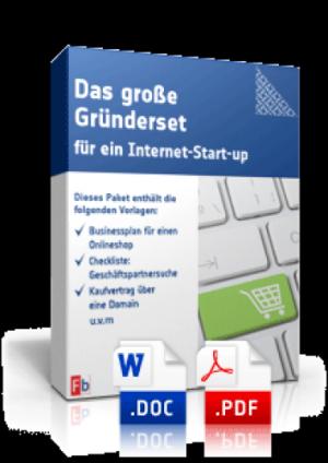 Das große Gründerset für ein Internet-Start-up