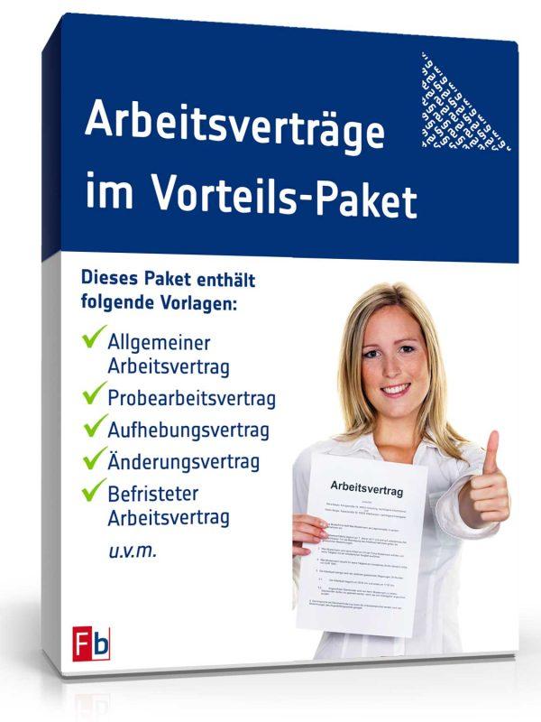 11 Arbeitsverträge im Vorteils-Paket 1