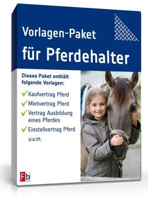 Vorlagen-Paket für Pferdehalter