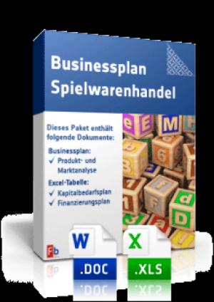 Businessplan Spielwarenhandel