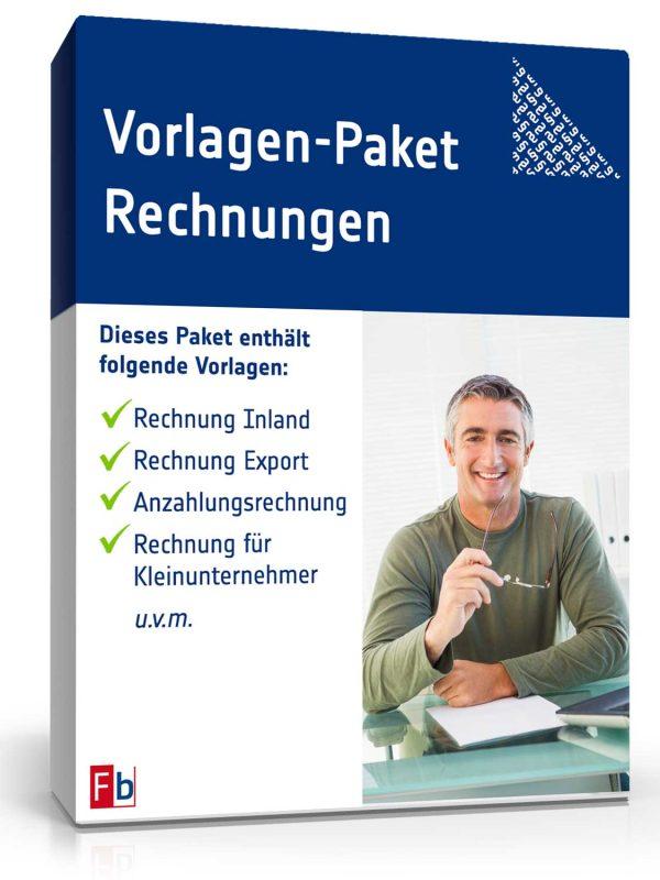 Vorlagen-Paket Rechnungen 1