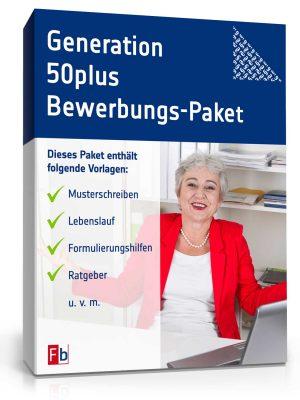 Generation 50plus Bewerbungs-Paket (mit Hochschulabschluss)