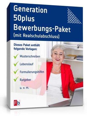 Generation 50plus Bewerbungs-Paket (mit Realschulabschluss)