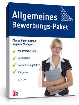 Allgemeines Bewerbungs-Paket