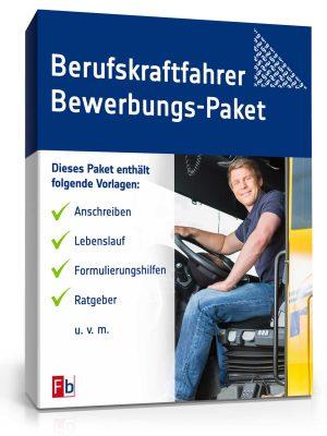 Berufskraftfahrer Bewerbungs-Paket