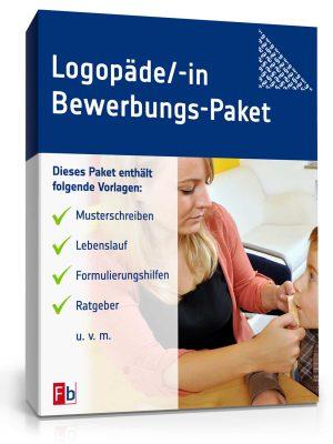Logopäde/ Logopädin Bewerbungs-Paket