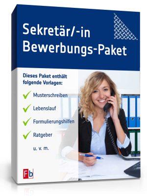 Sekretärin / Sekretär Bewerbungs-Paket