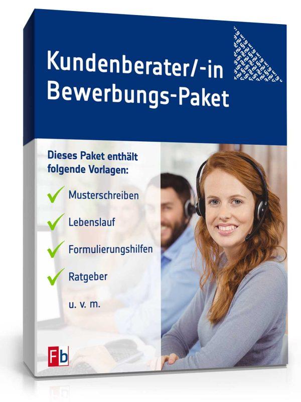 Kundenberater/ Kundenberaterin Bewerbungs-Paket 1