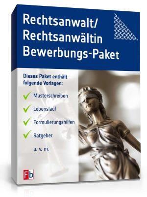 Rechtsanwalt/ Rechtsanwältin Bewerbungs-Paket