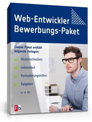 Web-Entwickler Bewerbungs-Paket