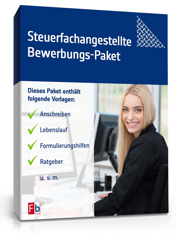 Steuerfachangestellte Bewerbungs-Paket