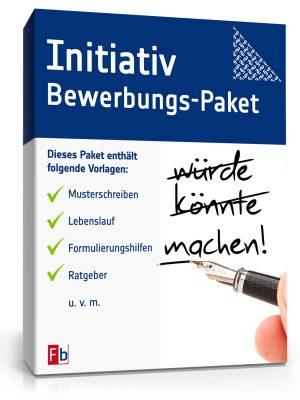 Initiativbewerbung Bewerbungs-Paket