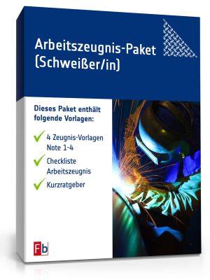 Arbeitszeugnis-Paket Schweißer/-in
