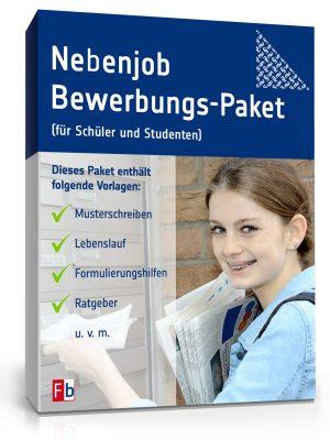 Nebenjob Bewerbungs-Paket (für Schüler und Studenten)