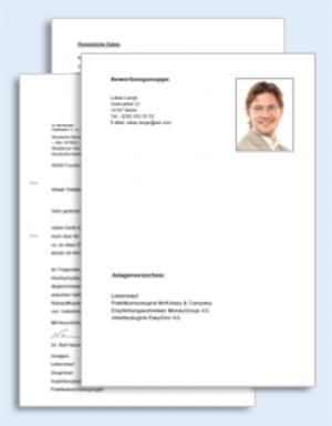 Bankkaufmann/ Bankkauffrau Bewerbungs-Paket