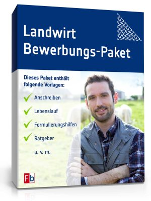 Landwirt Bewerbungs-Paket