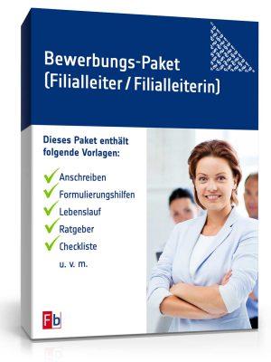 Filialleiter/ Filialleiterin Bewerbungs-Paket
