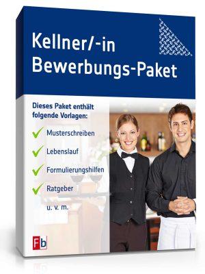 Kellner/ Kellnerin Bewerbungs-Paket