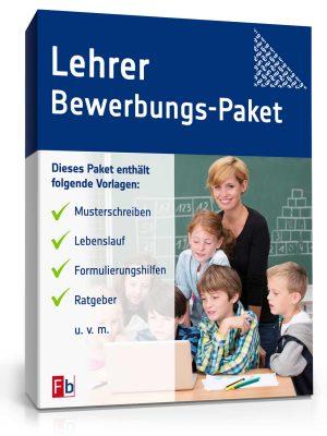 Lehrer Bewerbungs-Paket