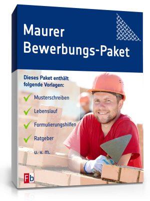 Maurer Bewerbungs-Paket