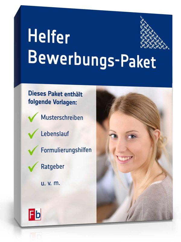 Helfer Bewerbungs-Paket 1