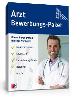 Arzt Bewerbungs-Paket