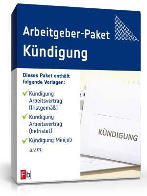 Arbeitgeber-Paket Kündigung
