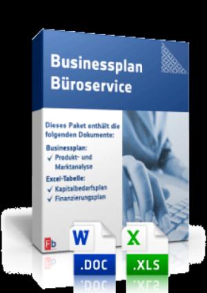 Businessplan Büroservice