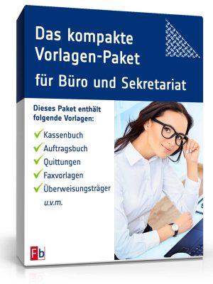 Das kompakte Vorlagen-Paket für Büro und Sekretariat