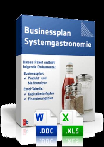 Businessplan Franchise (Systemgastronomie)