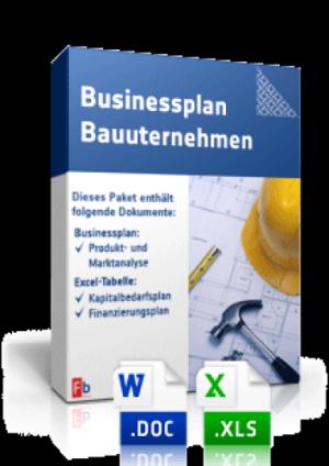 Businessplan Bauunternehmen