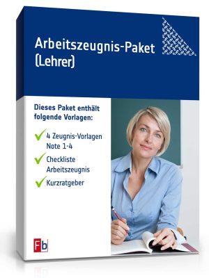 Arbeitszeugnis-Paket Lehrer/-in