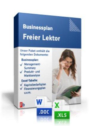 Businessplan Freier Lektor