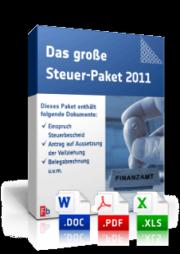 Das große Steuer-Paket 2011