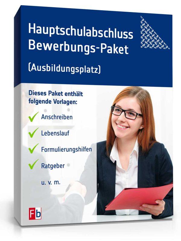 Hauptschulabschluss Bewerbungs-Paket (Ausbildungsplatz) 1