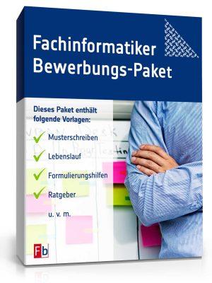 Fachinformatiker Bewerbungs-Paket