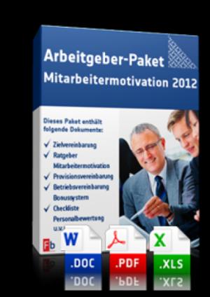 Arbeitgeber-Paket Mitarbeitermotivation