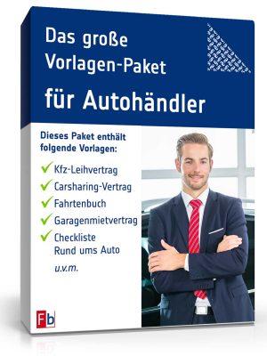 Das große Vorlagen-Paket für Autohändler
