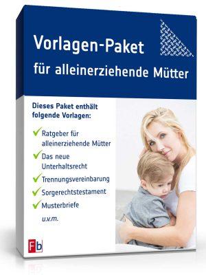 Vorlagen-Paket für alleinerziehende Mütter