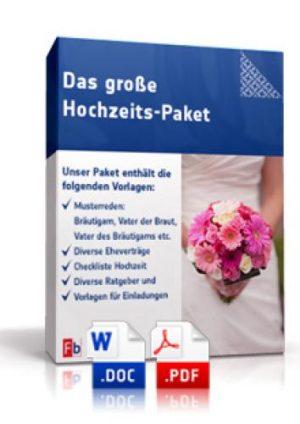 Das große Hochzeits-Paket