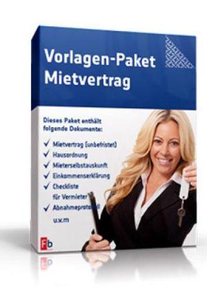 Vorlagen-Paket Mietvertrag