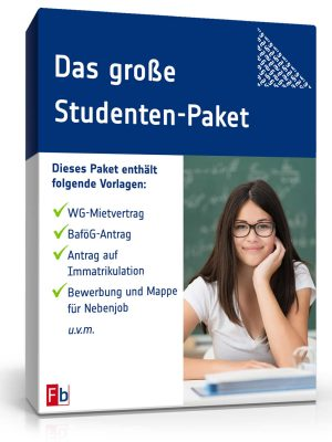 Das große Studenten-Paket