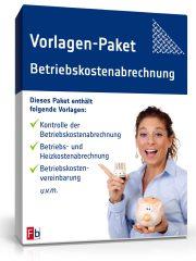 Vorlagen-Paket Betriebskostenabrechnung
