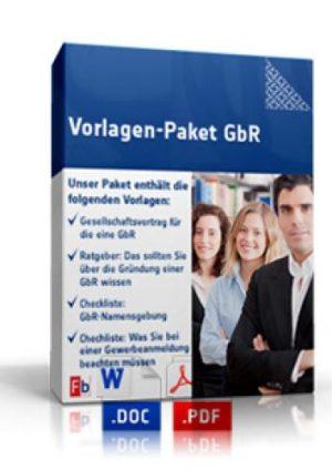 Vorlagen-Paket GbR