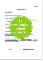 Unterlassungserklärung wegen illegaler Downloads/Verstoß gegen Urheberrecht