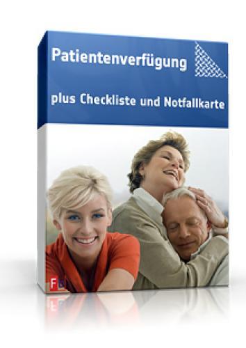Patientenverfügung: Mit Checkliste & Notfallkarte