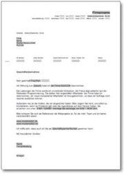 Werbebrief für einen Website-Programmierer
