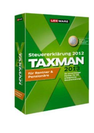 TAXMAN 2013 für Rentner und Pensionäre