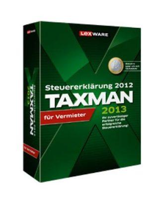 TAXMAN 2013 für Vermieter