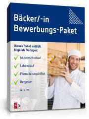 Bäcker Bewerbungs-Paket